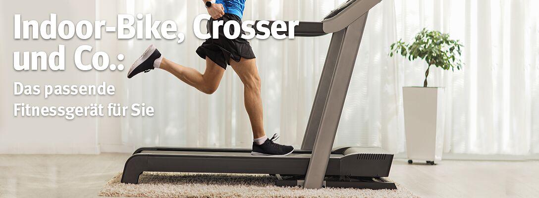 Indoor-Bike, Crosser & Co.: Das passende Fitnessgerät