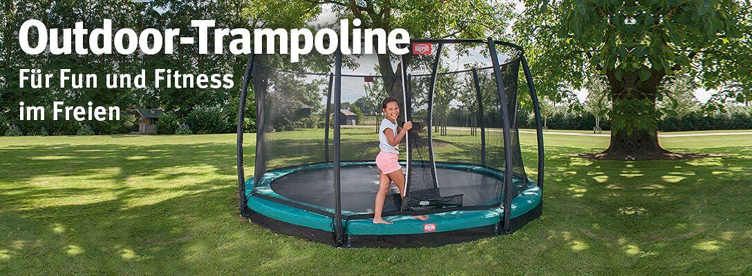 Outdoor-Trampoline - 100% Spaß beim Springen