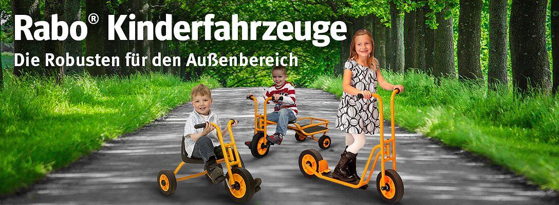 Rabo® Kinderfahrzeuge für den Außenbereich