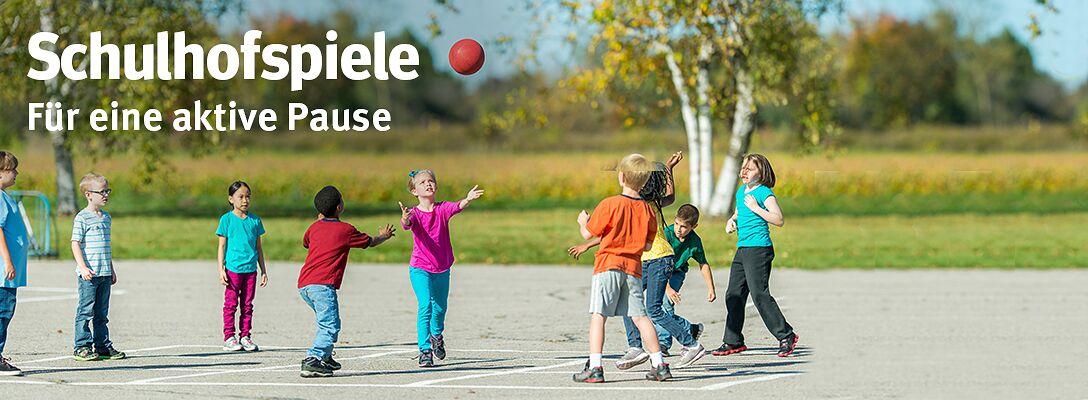 Schulhofspiele - Für eine aktive Pause