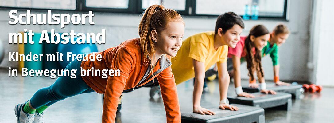 Schulsport mit Abstand - Kinder mit Freude in Bewegung bringen