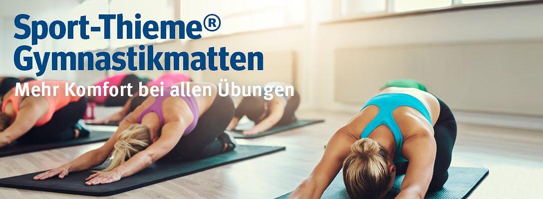 Sport-Thieme® Gymnastikmatten - Mehr Komfort bei allen Übungen
