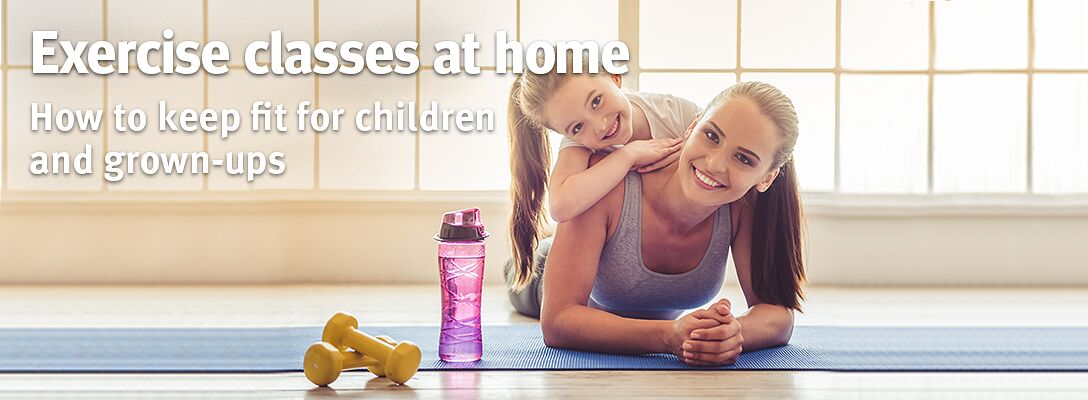 Exercise classes at home