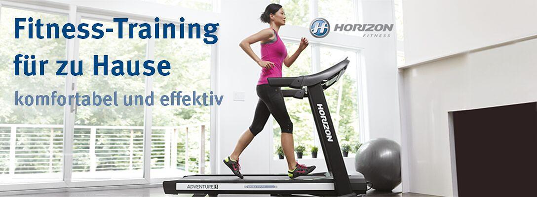 Horizon Fitness: Fitness-Training zu Hause
