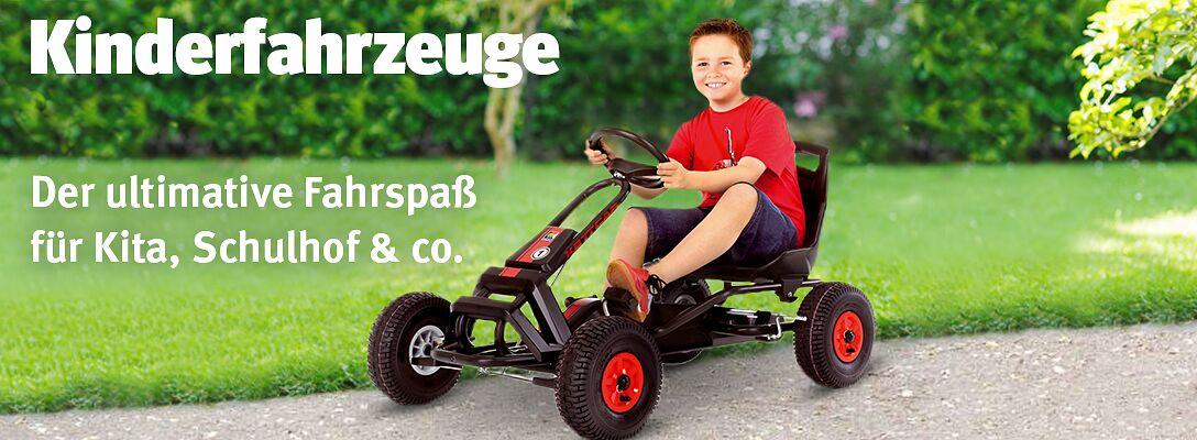Kinderfahrzeuge: Ultimativer Fahrspaß für Kita, Schulhof & co