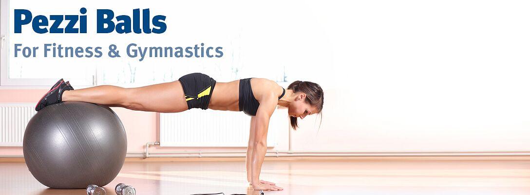 Pezzi Balls - for Fitness & Gymnastics