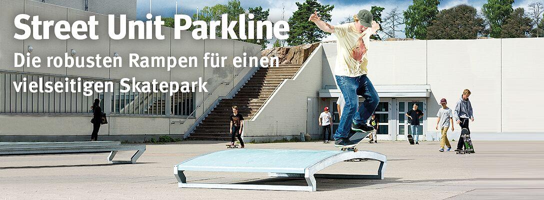 Skatepark-Rampen von Street Unit Parkline