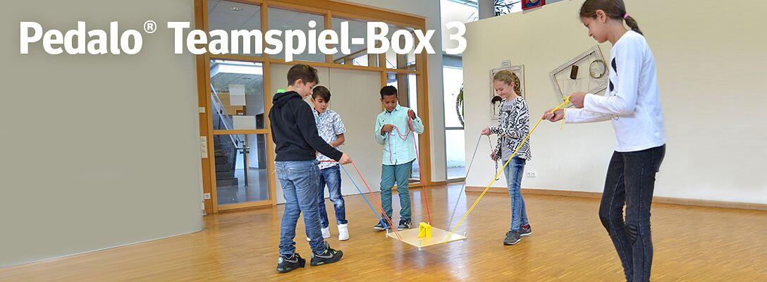 "Pedalo® Teamspiel-Box ""Drei"" - Kommunizieren & kooperieren"