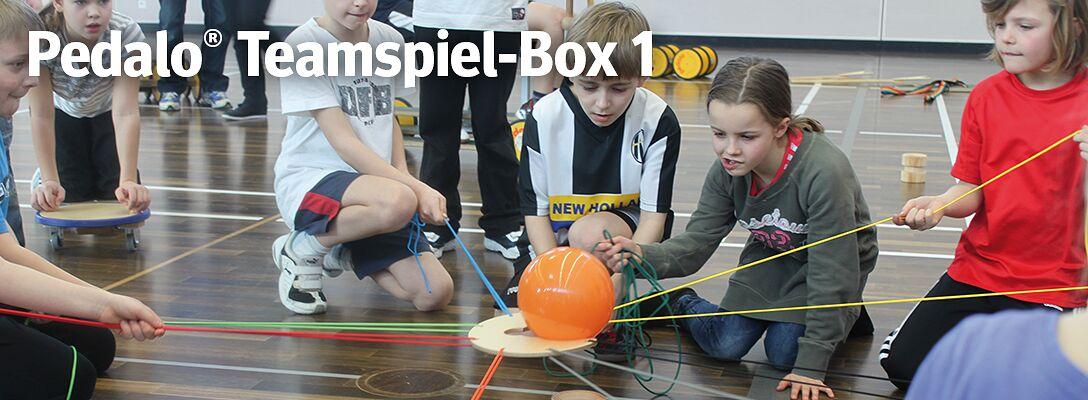 """Pedalo® Teamspiel-Box """"Eins"""" - Gemeinsam erfolgreich sein"""