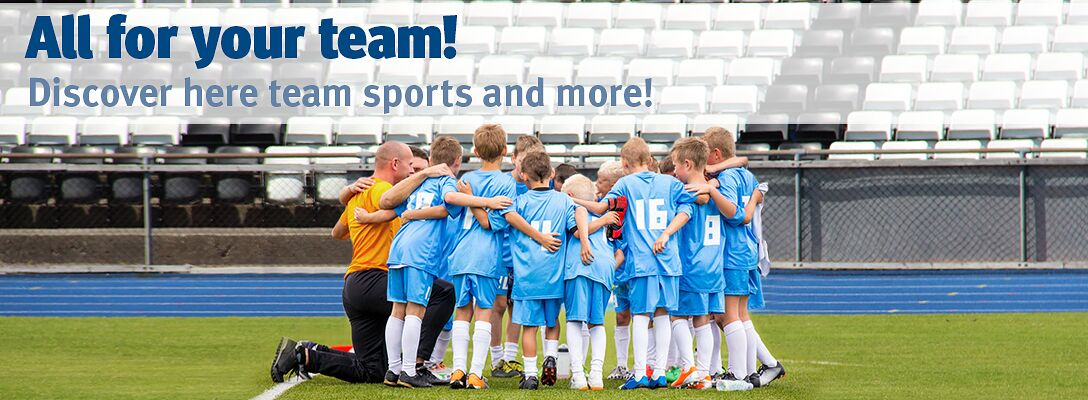 Team sports: All for your team!