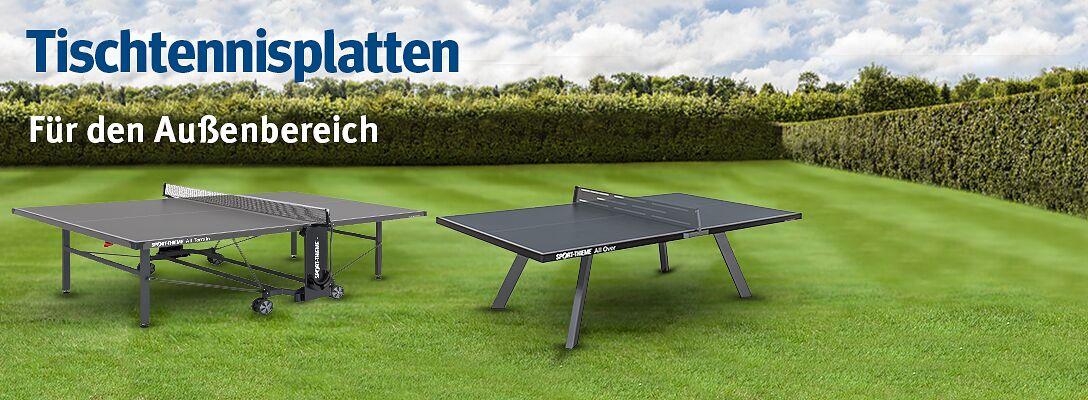 Tischtennisplatten für den Außenbereich