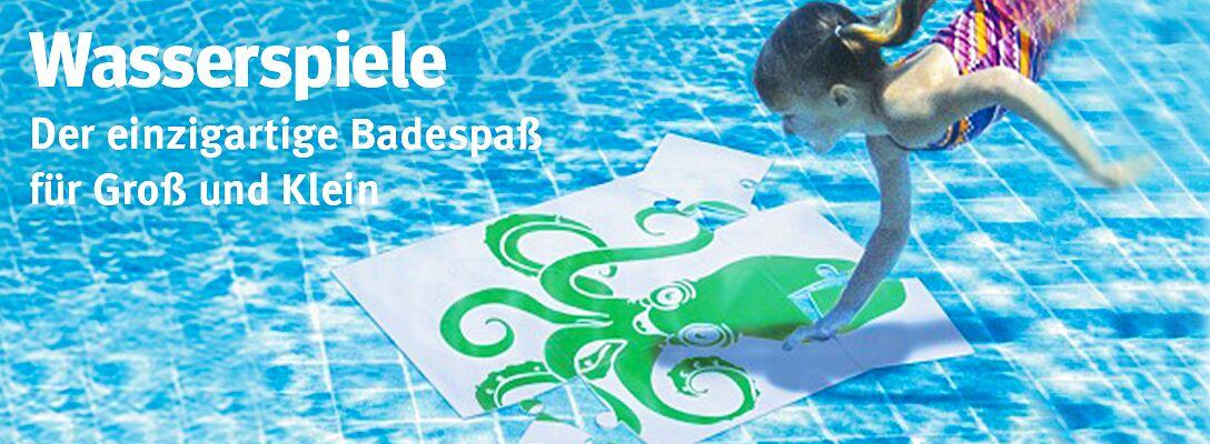 Wasserspiele - Der einzigartige Badespaß für Groß und Klein
