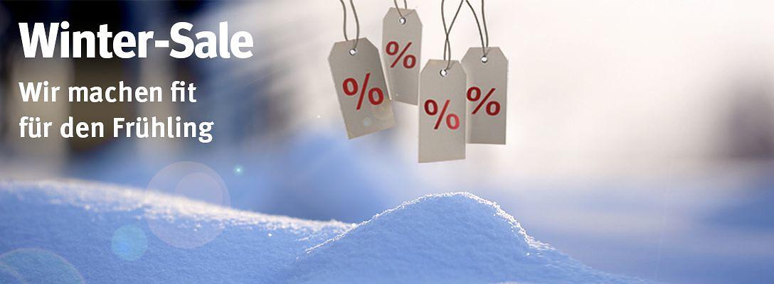 Winter Sale - Wir machen fit für den Frühling