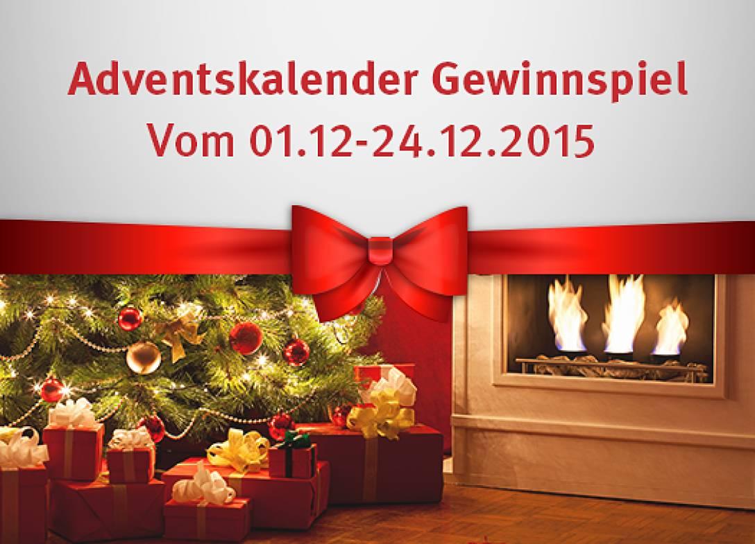 Adventskalender-Gewinnspiel vom 01.12. bis 24.12.
