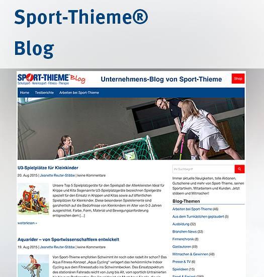 Sport-Thieme Blog