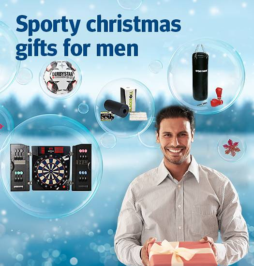 Sporty christmas gifts for men