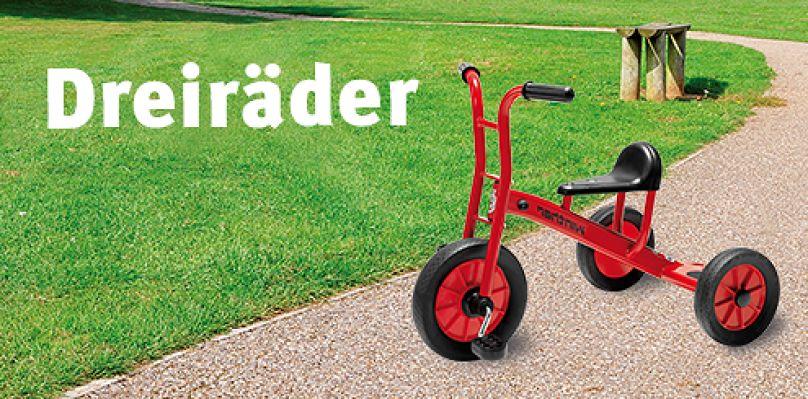 Dreiräder im Sport-Thieme Online-Shop kaufen!