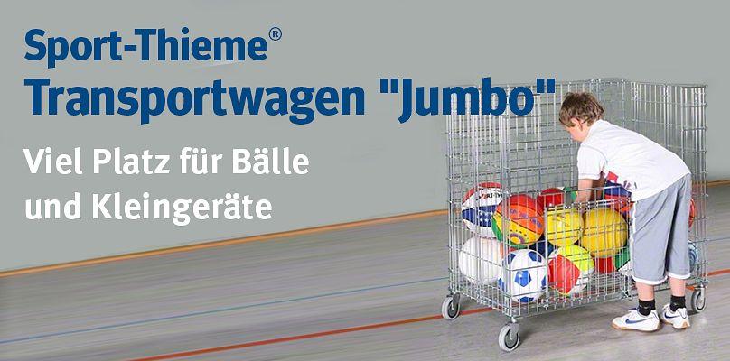 """Sport-Thieme® Transportwagen """"Jumbo"""" - Viel Platz für Bälle und Kleingeräte"""