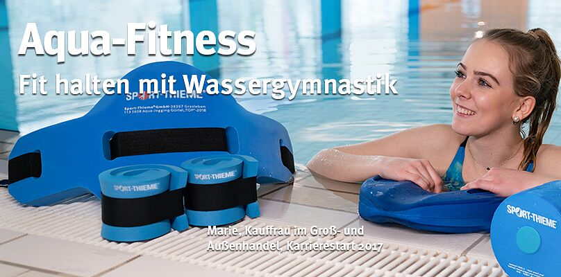 Aqua-Fitness: Fit halten mit Wassergymnastik