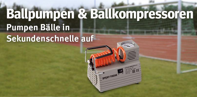 Ballpumpen & Ballkompressoren - Pumpen Bälle in Sekundenschnelle auf