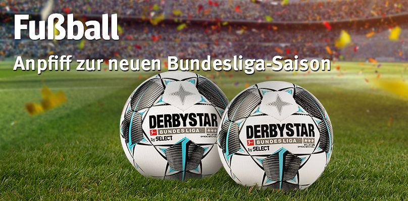 Fußball - Jetzt zum Saisonstart ausrüsten!
