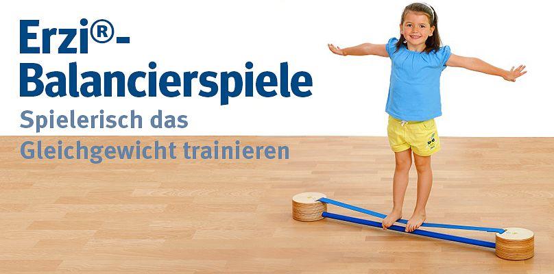 Erzi®-Balancierspiele - Spielerisch das Gleichgewicht trainieren