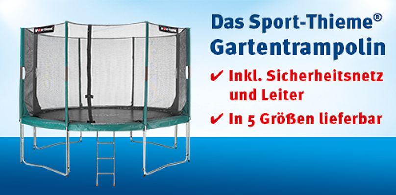 Das Sport-Thieme® Gartentrampolin