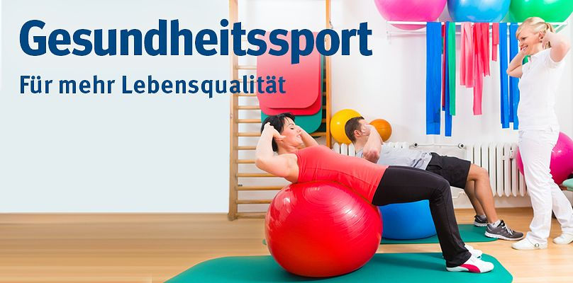 Gesundheitssport - Leistungsfähigkeit erhalten und verbessern