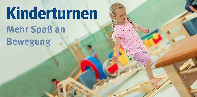 Kinderturnen - Mehr Spaß an Bewegung