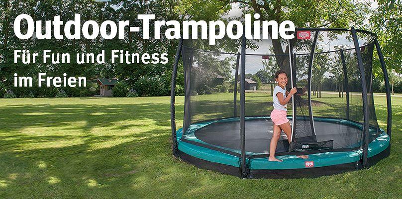 Outdoor-Trampoline - Für Fun und Fitness im Freien