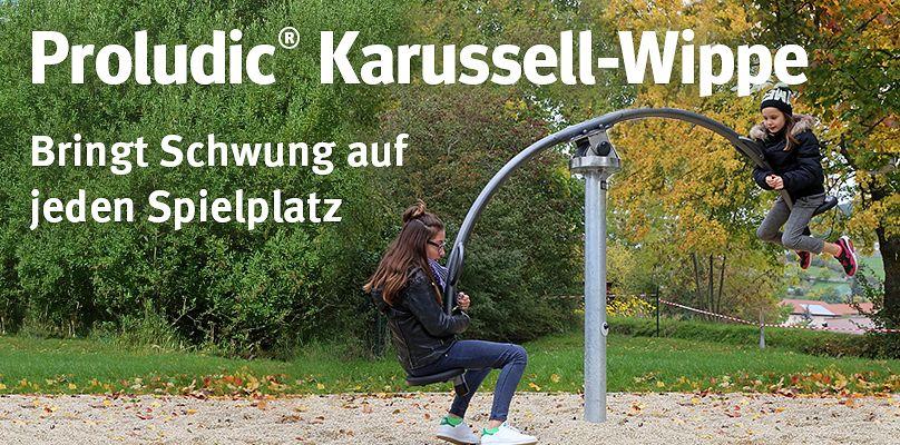 Karussell-Wippe - Bringt Schwung auf jeden Spielplatz