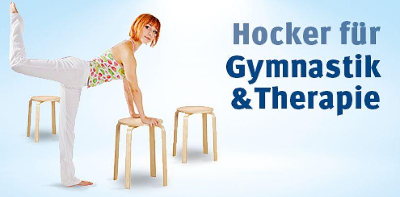 Hocker für Gymnastik & Therapie
