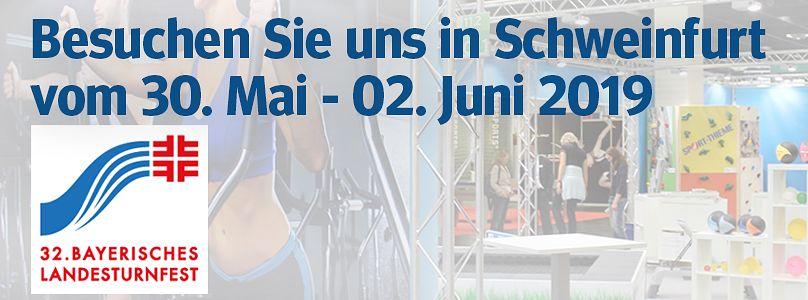 Landesturnfest Schweinfurt: Besuchen Sie uns in Karlsruhe vom 30. Mai - 02. Juni 2019