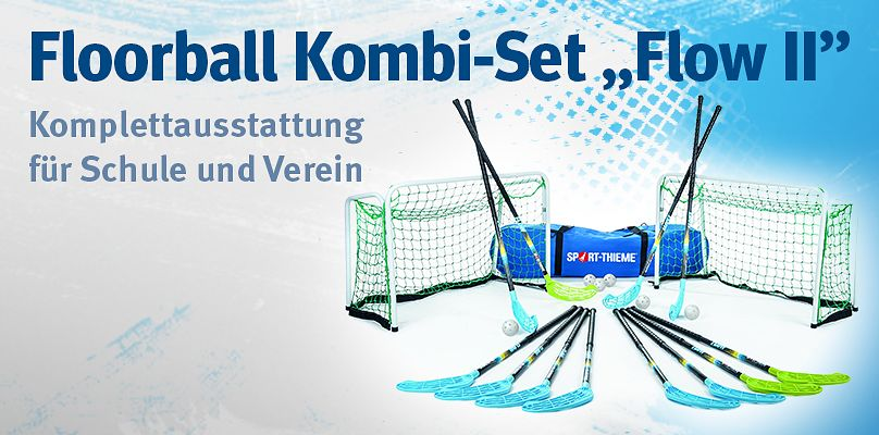"Floorball Kombi-Set ""Flow II"" bei Sport-Thieme"