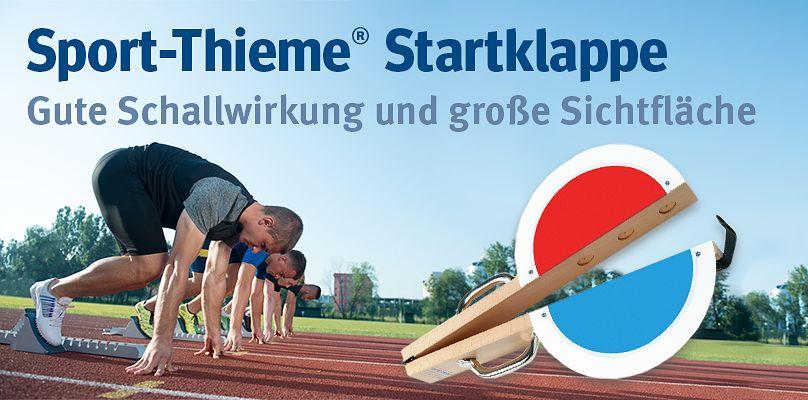 Sport-Thieme Startklappe - Gute Schallwirkung und große Sichtfläche