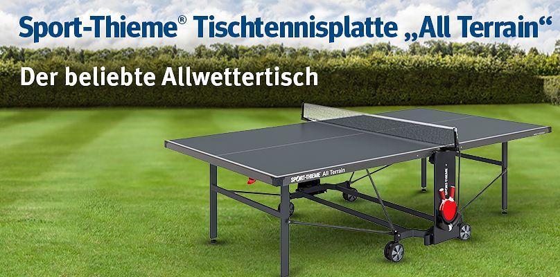 """Sport-Thieme® Tischtennisplatte """"All Terrain"""" - Der beliebte Allwettertisch"""