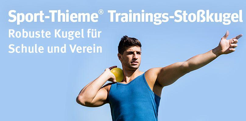 Sport-Thieme Trainings-Stoßkugel - Robuste Kugel für Schule und Verein