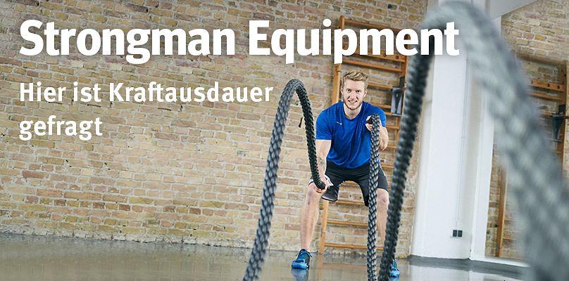 Strongman-Equipment - Hier ist Kraftausdauer gefragt