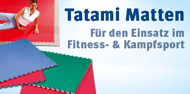 Tatami Matten - Für Fitness & Kampfsport