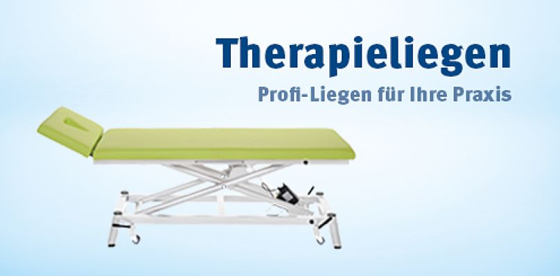 Therapieliegen - Profi-Liegen für Ihre Praxis