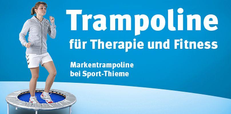 Trampoline für Therapie und Fitness
