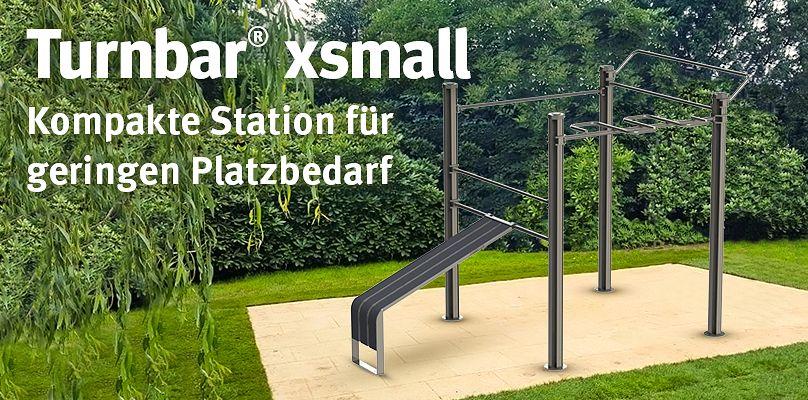 Turnbar® xsmall - Kompakte Station für geringen Platzbedarf