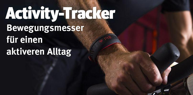 Activity-Tracker für einen aktiven Alltag