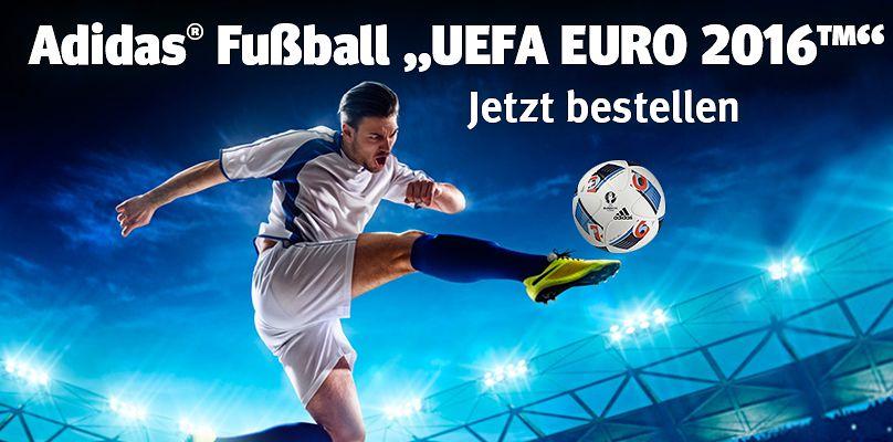 Jetzt den Adidas® Fußball UEFA EURO 2016™ bestellen