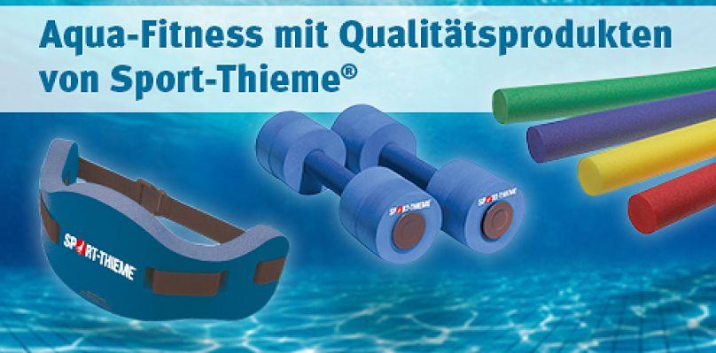 Aqua-Fitness mit Qualitätsprodukten von Sport-Thieme