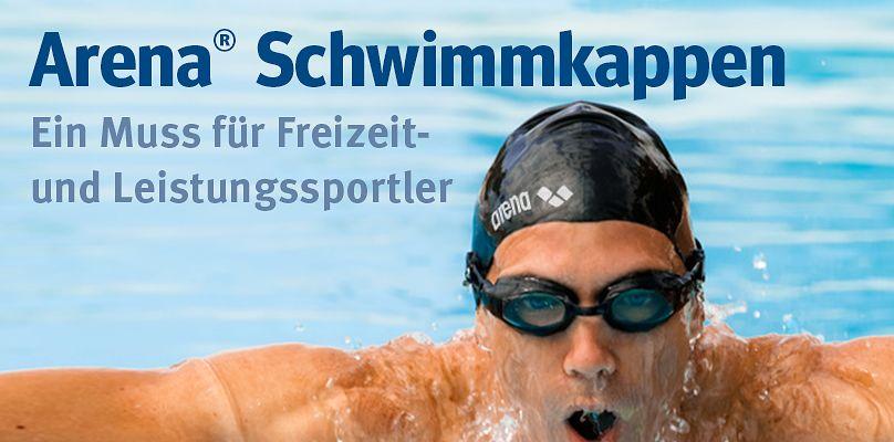 Arena Schwimmkappen - Ein Muss für Freizeit- und Leistungssportler
