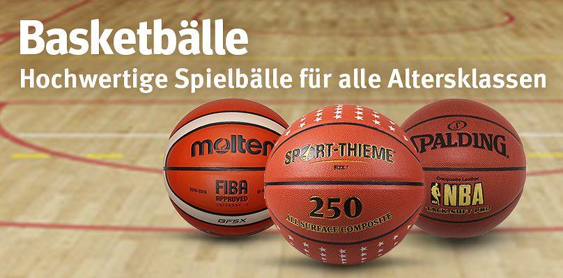 Basketbällle - Hochwertige Spielbälle für alle Altersklassen