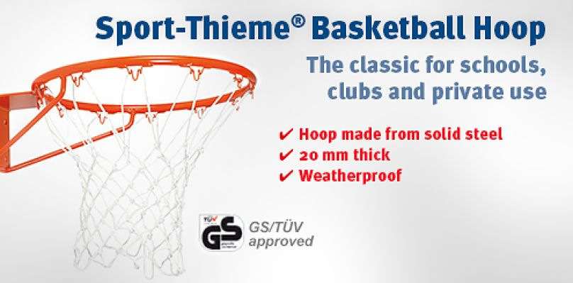Sport-Thieme Basketball Hoop - The classic for schools, clubs and private use