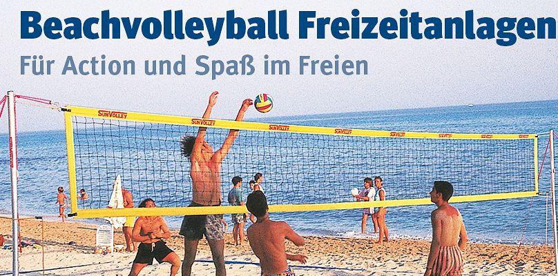 Beachvolleyball Freizeitanlagen - Für Action und Spaß im Freien
