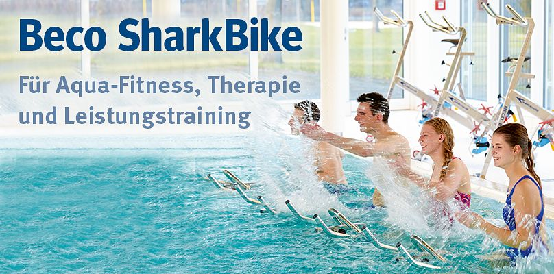 Beco SharkBike - Für Aqua-Fitness, Therapie und Leistungstraining